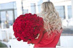 Букеты из 101 розы (10)
