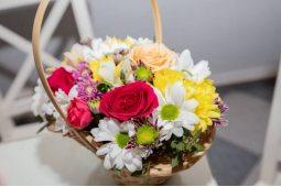 Хризантемы в корзине (1)