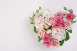 Сердца из цветов (0)