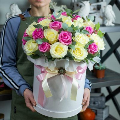 """Коробка цветов  """"Солнечный луч"""""""