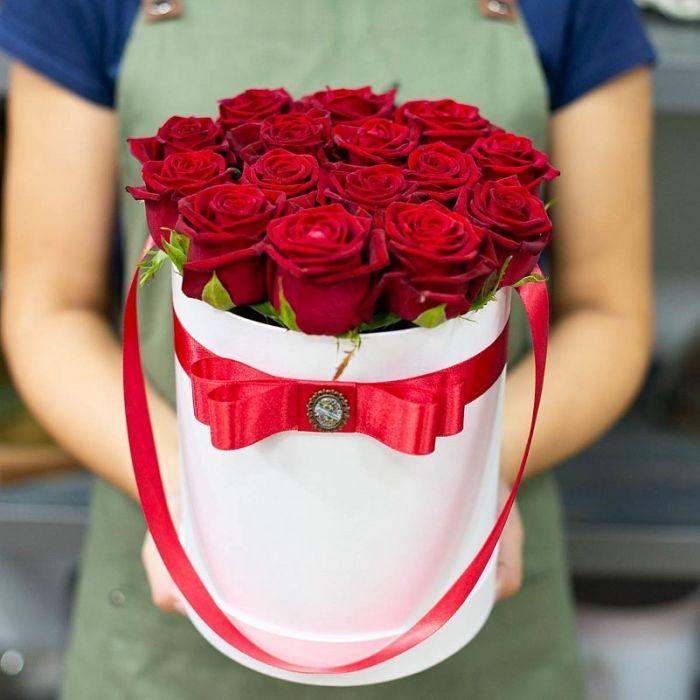 """Коробка цветов """"Романс"""""""
