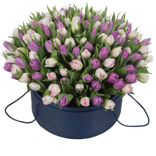 """Коробка цветов """" Для любимой"""""""