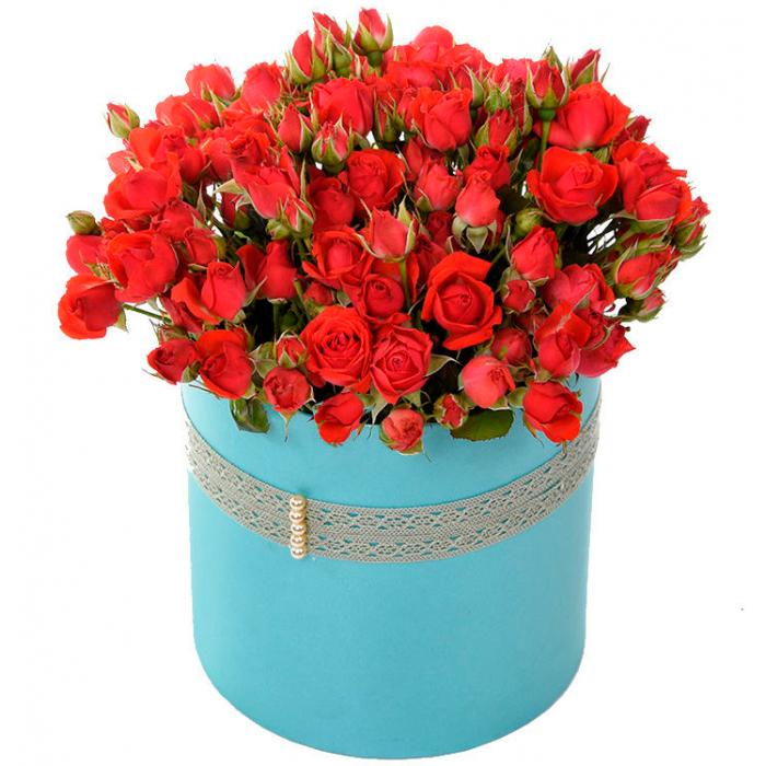"""Коробка цветов """"Круг желаний"""""""