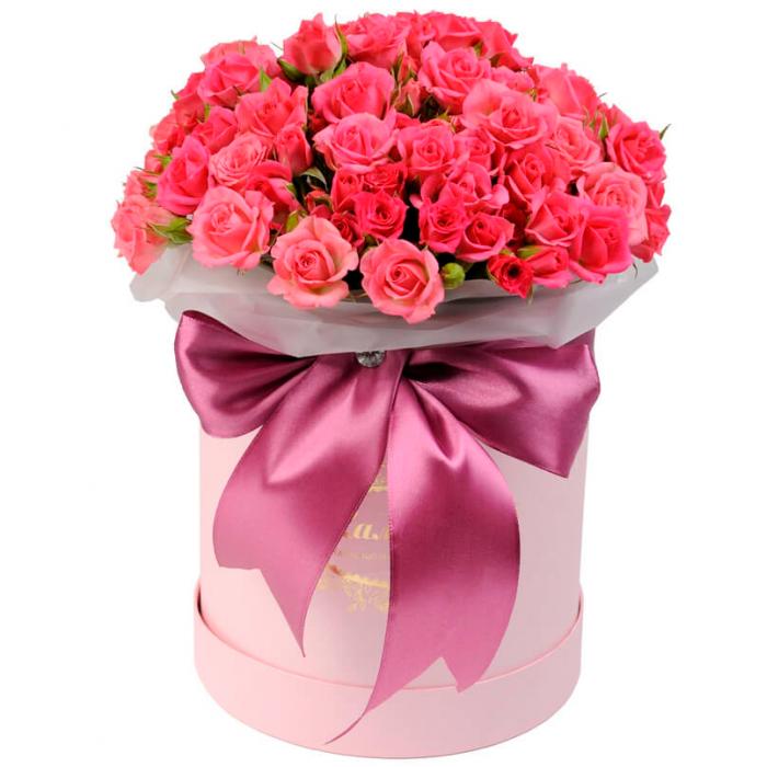 """Коробка цветов """"Рождение любви"""""""