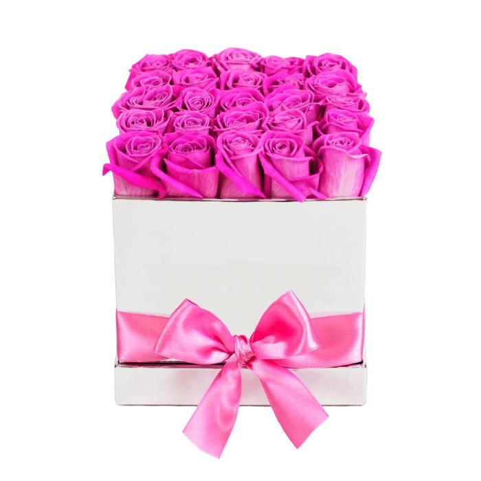 """Коробка цветов """" Скучаю за тобой"""""""