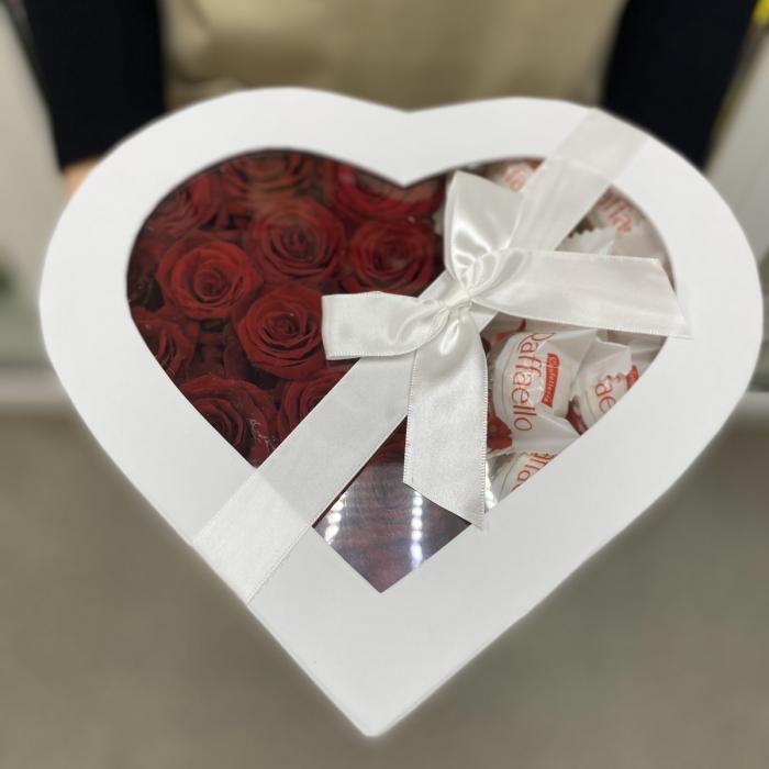 "Коробка цветов "" I love you"""