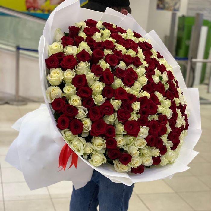 """Букет из 101 розы """" Моей любимой"""""""