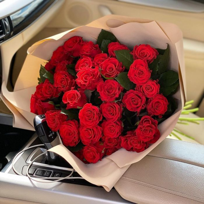 "Букет из 25 роз ""Эль-торо"""