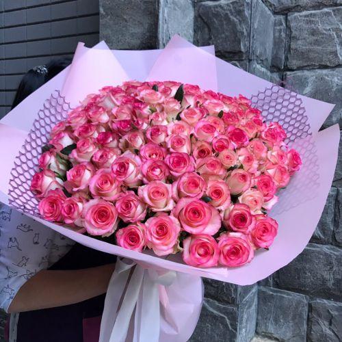 """Букет из 51 розы """" Милая моя"""""""