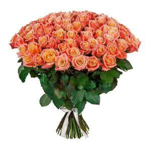 """Оранжевая роза """"Мисс Пигги"""""""