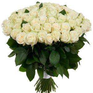 """Белая роза """"Аваланж"""""""