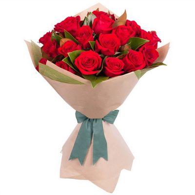 """Букет из красных роз  """" Малыш"""""""