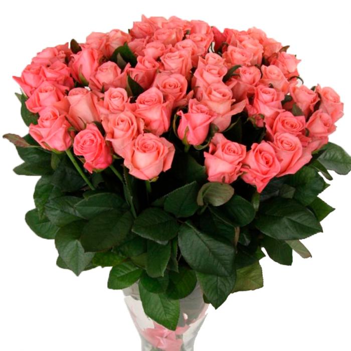 """Розовая роза """"Анна Кариния"""" оптом 90 см."""
