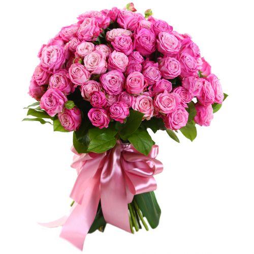 """Розовая роза """"Леди Бомбастик"""" оптом"""
