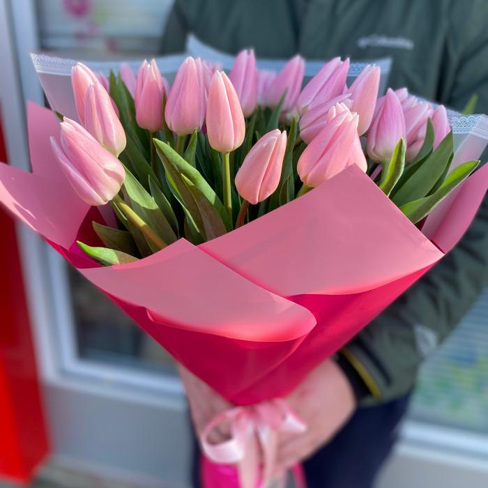 """Букет из тюльпанов """"Жемчужина красоты"""""""