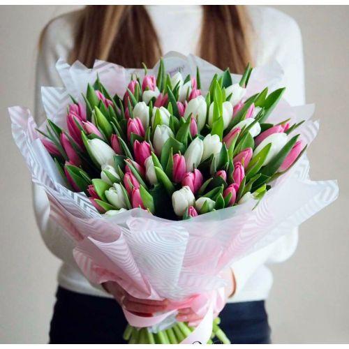 """Букет из тюльпанов """"Весна"""""""