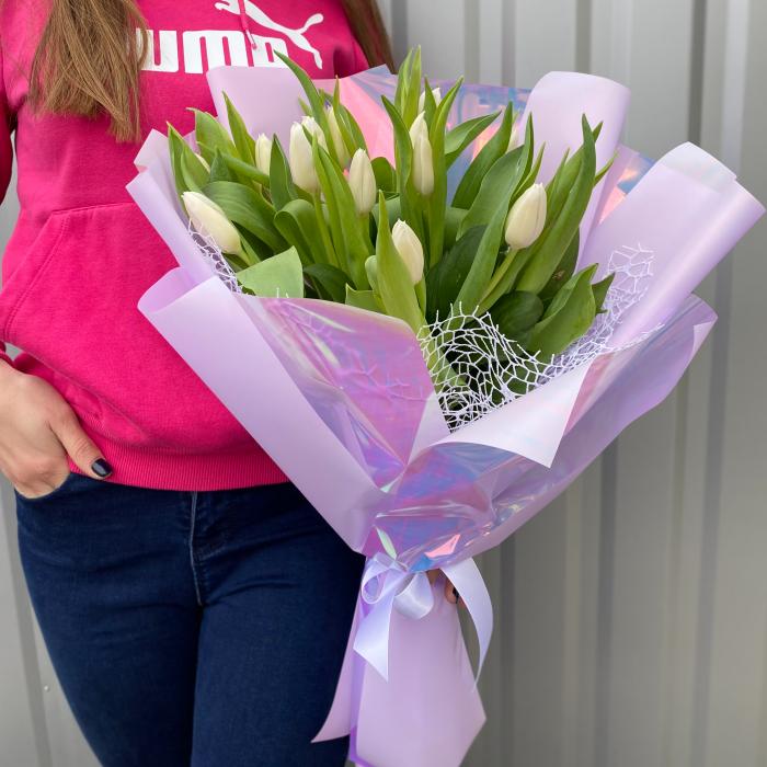 """Тюльпаны """" Скромная улыбка"""""""
