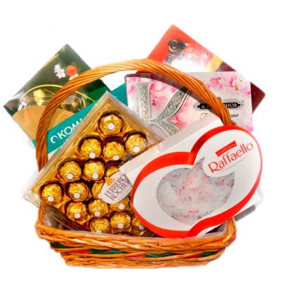 Корзина сладостей «Признание»