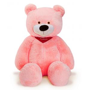 Розовый плюшевый мишка 150 см.