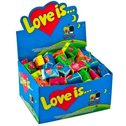 "Коробка жвачек ""Love is"""