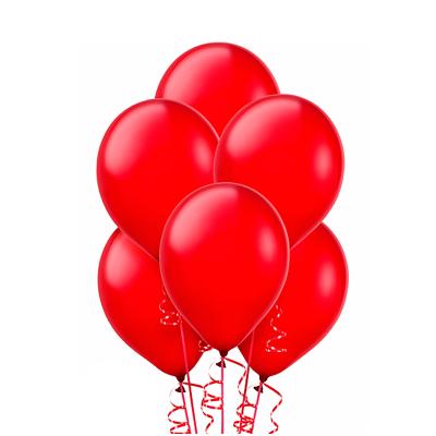 Красные гелиевые шарики