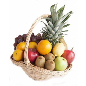 """Корзина фруктов """"Сладкие полезности"""""""